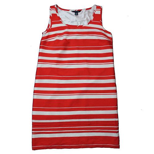 Tommy Hilfiger Red & White Dress