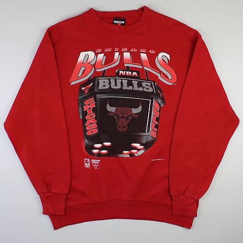 Vintage Red Chicago Bulls Sweatshirt