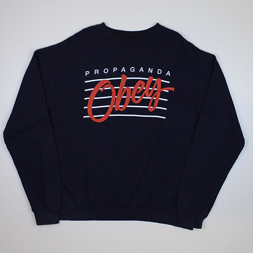 Obey Navy Sweater