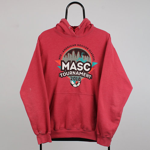 Red Mask Tournament Soccer Hoodie
