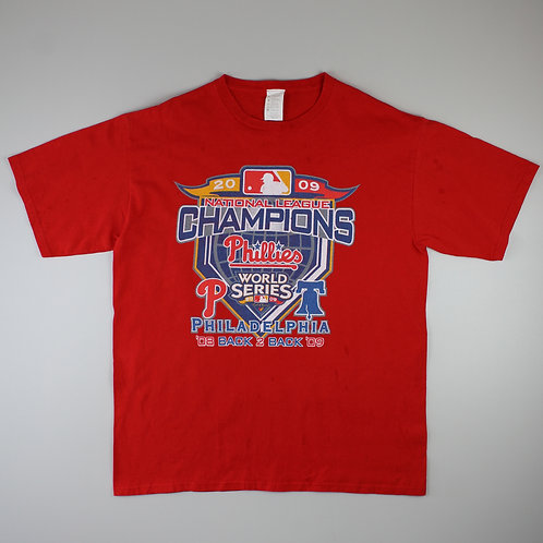 Vintage Red '2009 Phillies' T-Shirt