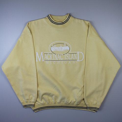 Vintage Yellow' Mackinac Island' Sweatshirt