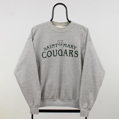 Vintage Grey Cougars Sweatshirt