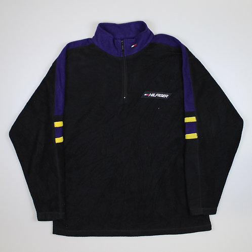 Tommy Hilfiger Purple & Black Fleece