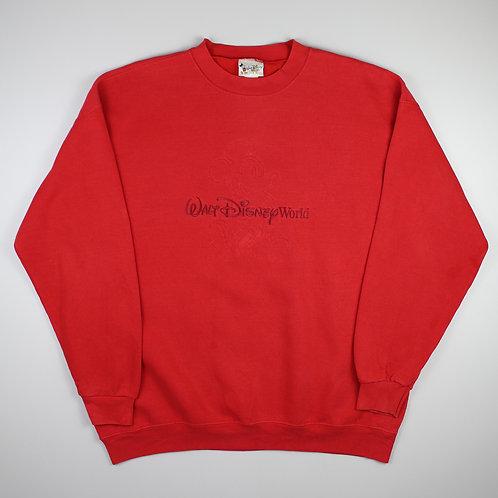 Disney Red 'Walt Disney World' Sweatshirt