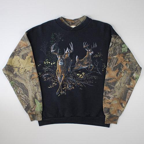 Vintage Deer Camouflage Sweatshirt