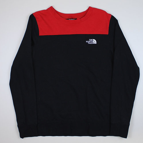 The North Face Red & Black Sweater