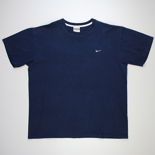 Nike Navy Embroidered T-Shirt