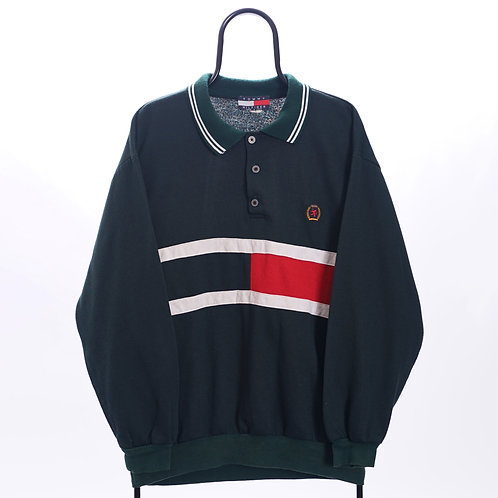 Tommy Hilfiger Vintage Bootleg Green Lightweight Sweatshirt