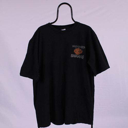 Harley Davidson Vintage Black Bahamas TShirt