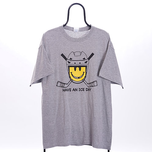 Vintage Grey Have An Ice Day TShirt
