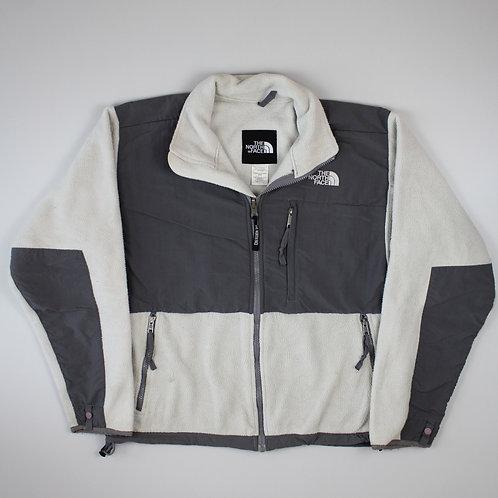 The North Face Cream & Grey Denali Jacket