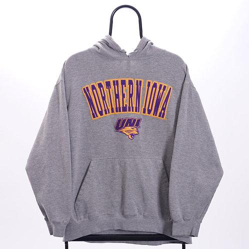 Vintage Grey Northern Iowa Hoodie
