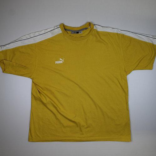 Puma Yellow & White T-shirt