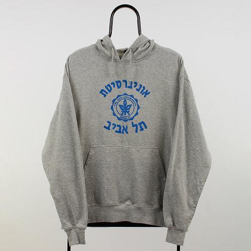 Vintage Grey Tel Aviv Hoodie