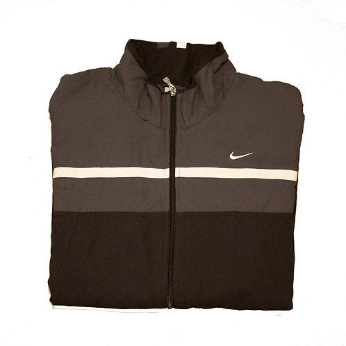 Nike Black & Dark Grey Tracksuit Top