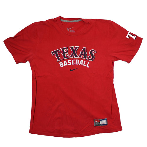 Nike 'Texas Baseball' Red T-shirt