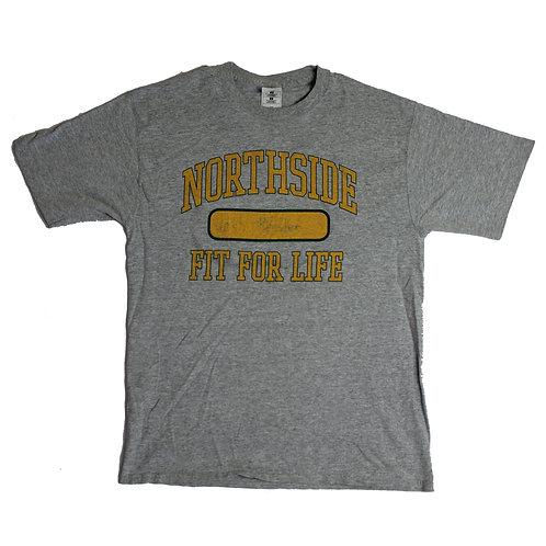 Vintage 'northside' Grey t-shirt