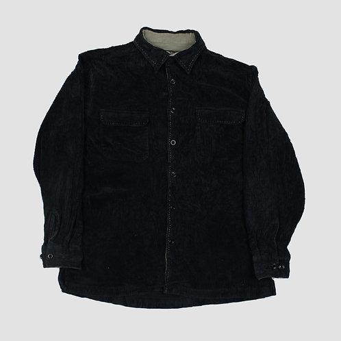 Nat Nast Black Corduroy Shirt
