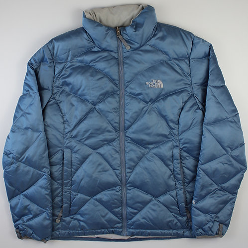 The North Face Blue Puffer Coat 550
