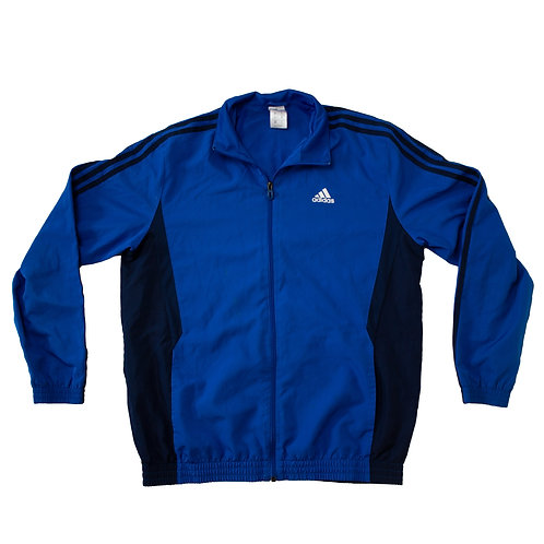 Adidas Blue & Navy Tracksuit Top