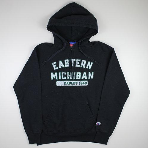 Champion Black 'Eastern Michigan' Hoodie