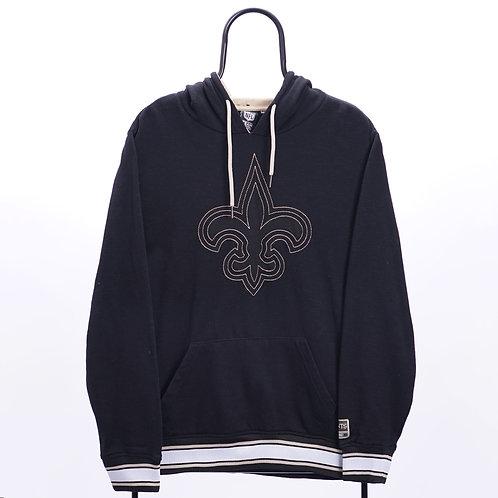 NFL Vintage Black New Orleans Saints Hoodie