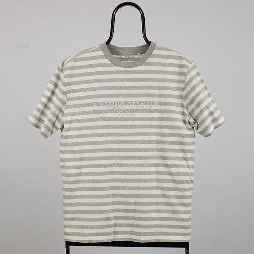 Guess Vintage Grey Striped TShirt