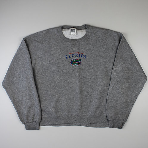Russel Athletic Grey 'Florida Gators' Sweatshirt