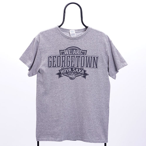 Vintage Grey Georgetown Hoyas NCAA TShirt