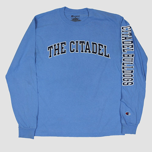 Champion 'The Citadel' Blue T-shirt