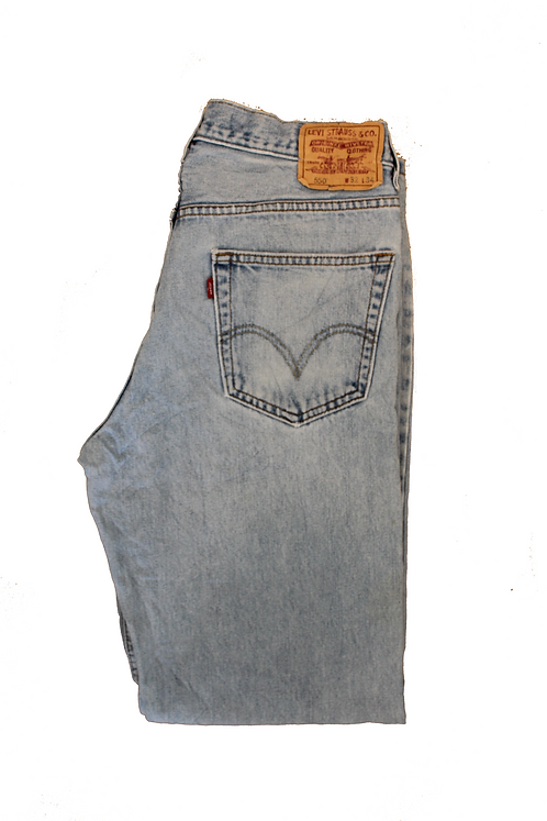 Levis Bleached  Washed Jeans