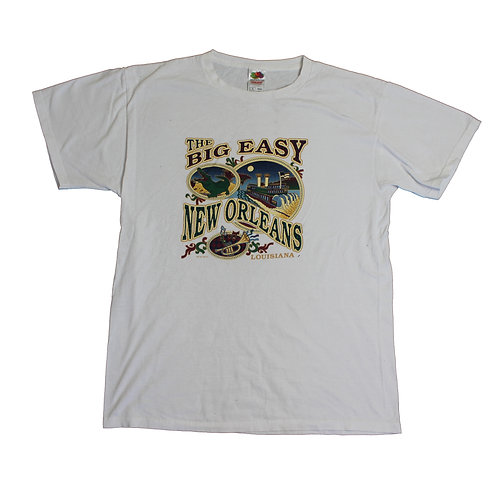 Vintage 'New Orleans' White T-shirt