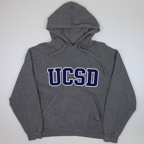 Vintage 'UCSD' Grey Hoodie
