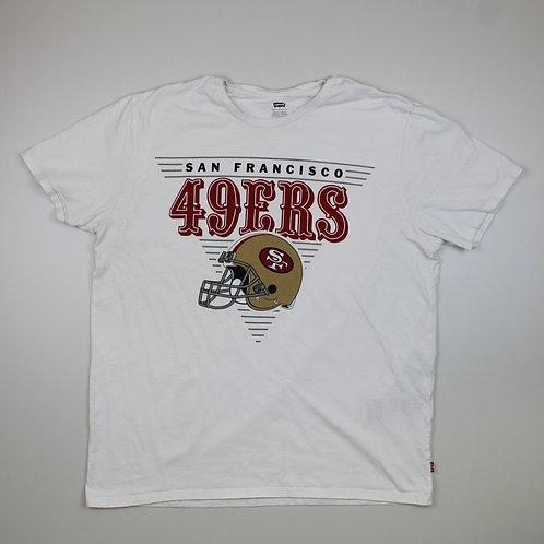 Levi's '49ERS' White T-shirt
