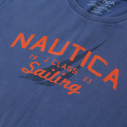 Nautica Blue & Orange T-shirt