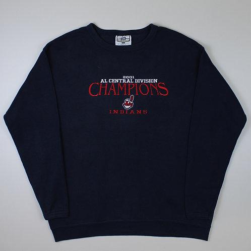 Lee Navy 'Cleveland Indians' Sweatshirt