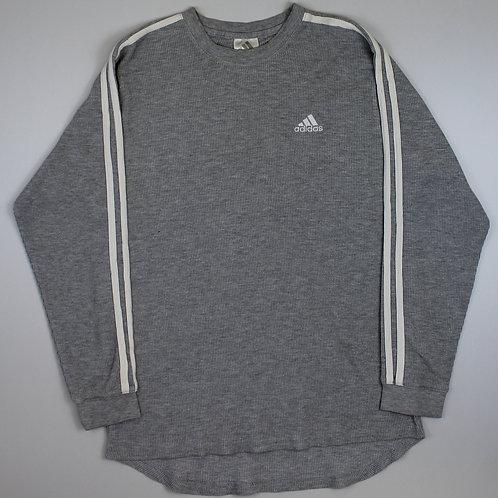 Adidas Grey Lightweight Sweatshirt