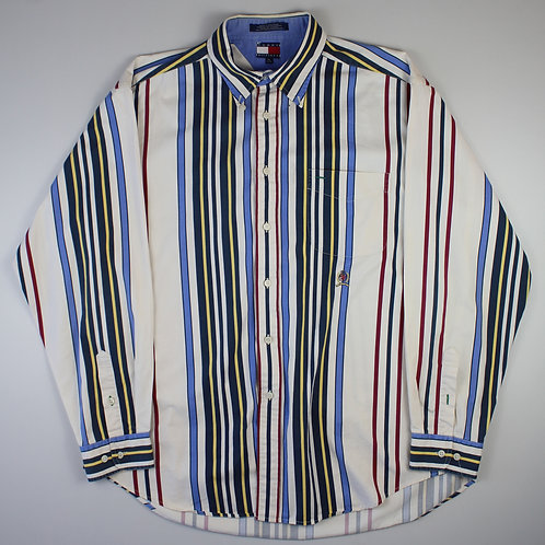 Tommy Hilfiger White Striped Shirt