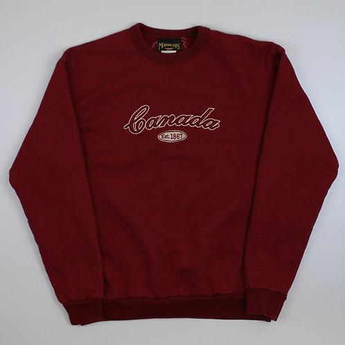 Vintage Red 'Canada' Sweatshirt