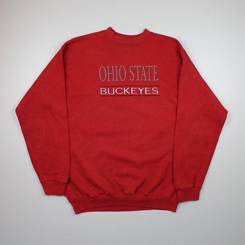 Vintage 'Ohio State Buckeys' Red Sweater