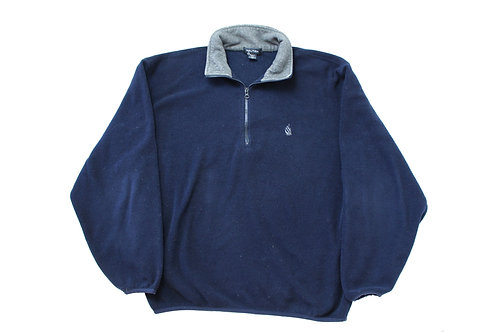 Nautica Navy 1/4 Zip Fleece