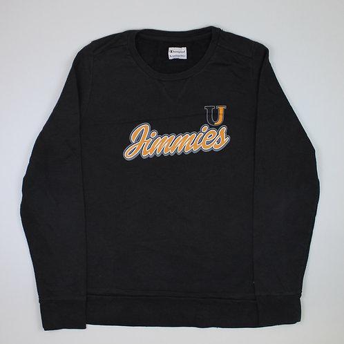 Champion 'Jimmies' Black Sweatshirt