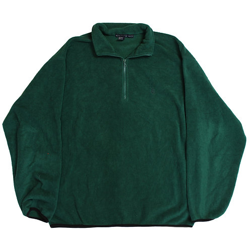 Nautica Green 1/4 Zip Fleece