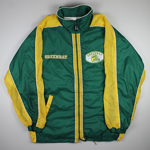 Vintage Green Bay Packers Tracksuit Top
