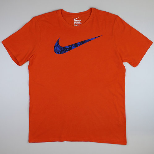 Nike Orange Graphic T-Shirt