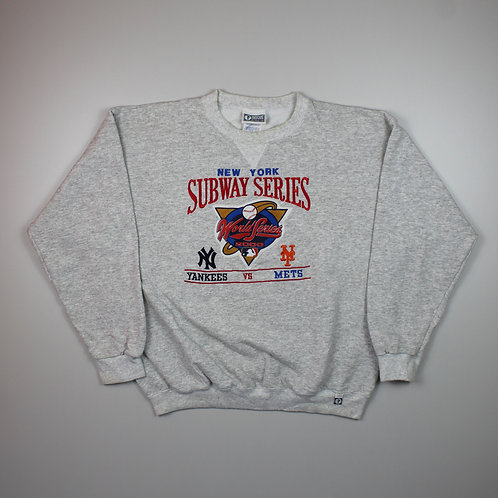 MLB  'Subway Series 2000' Grey Sweater