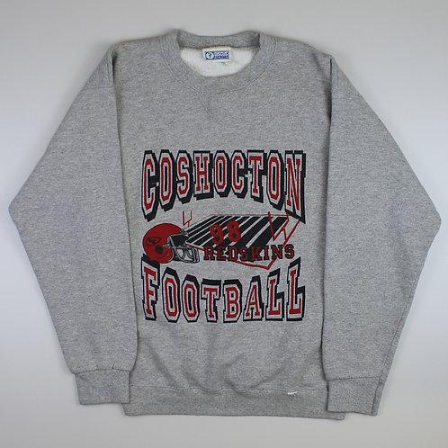 Vintage Grey 'Coshocton Football' Sweatshirt