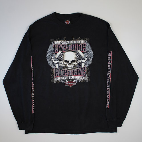 Harley Davidson 'Rocket' Black T-shirt