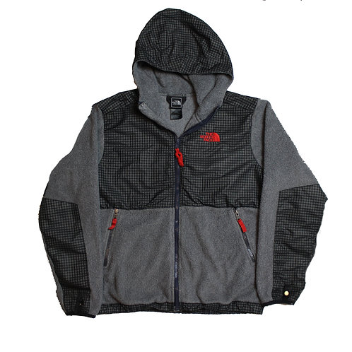 North Face Grey Hooded Jacket